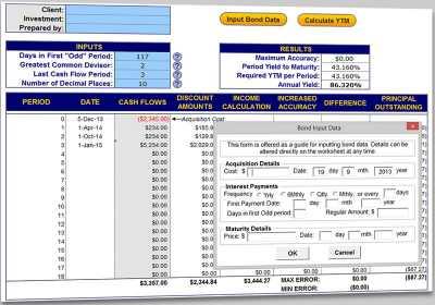Download Bond Yield Calculator