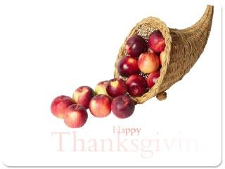 Download Bounties Of Thanksgiving Screensaver