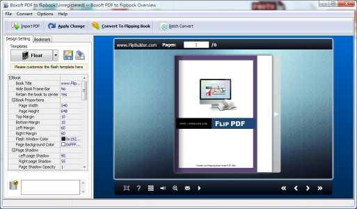 Boxoft PDF to Flipbook