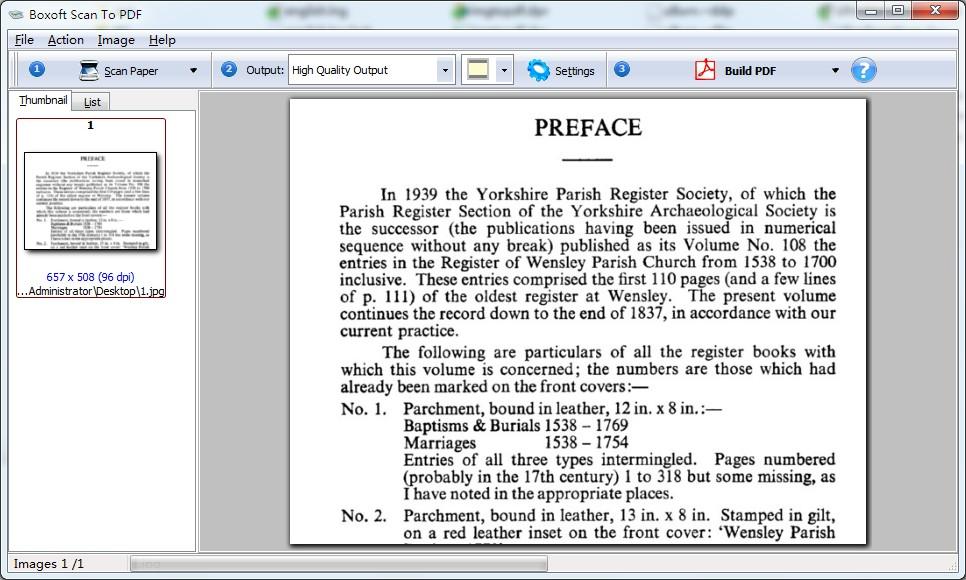 Boxoft Scan To PDF