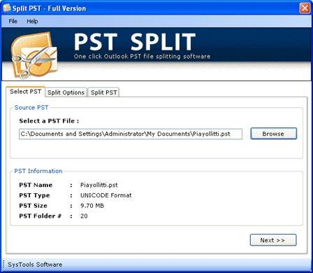 Download Break PST Archives