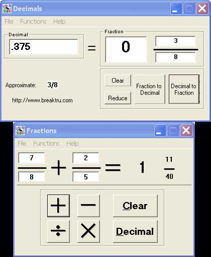 Download Breaktru Fractions n Decimals