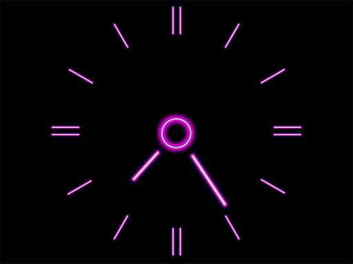 Download Brilliant Clock ScreenSaver