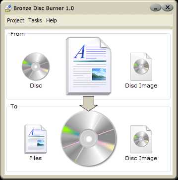 Download Bronze Disc Burner