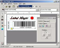 Download BulletProof Label Magic with Barcodes!