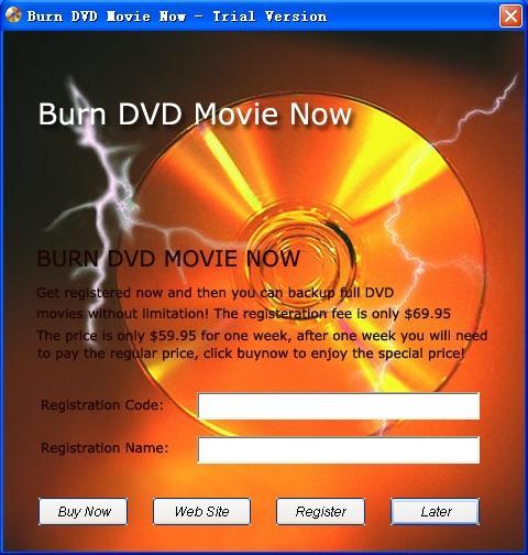 Download Burn DVD Movie Now