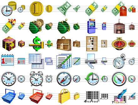 Download Business Software Icons