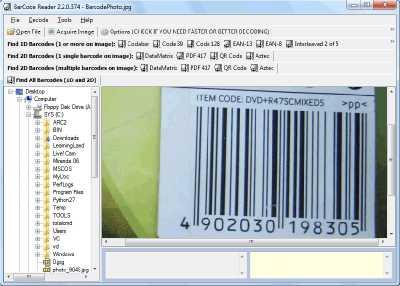 Download Bytescout BarCode Reader