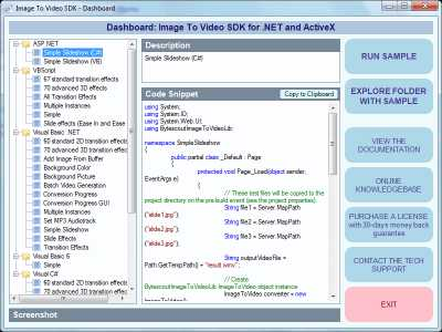 Download Bytescout Image To Video SDK