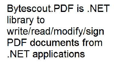 Download Bytescout PDF SDK