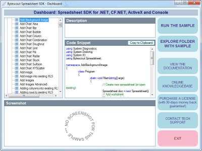 Download Bytescout Spreadsheet SDK