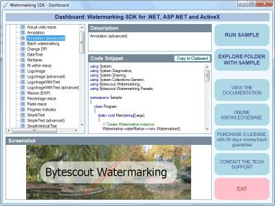 Download Bytescout Watermarking SDK