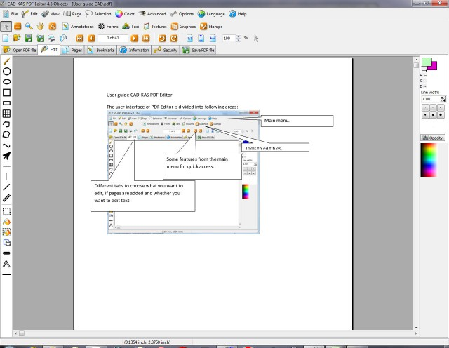 Download CAD KAS PDF Editor