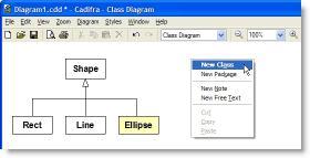 Download Cadifra UML Editor