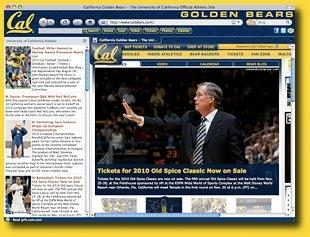 Download Cal Golden Bears IE Browser Theme