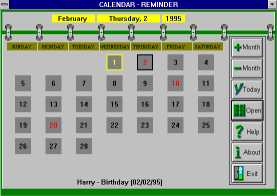 Calendar/Reminder