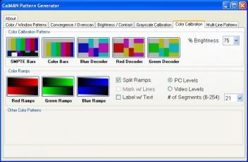 Download CalMAN HTPC Pattern Generator