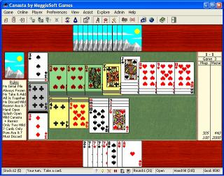 Download Canasta by MeggieSoft Games