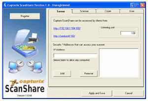 Download Capturix ScanShare