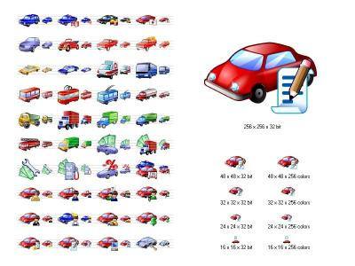 Download Car Icon Library