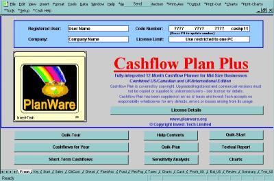 Download Cashflow Plan Free