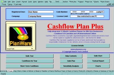 Download Cashflow Plan Lite
