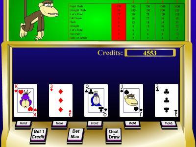 Download Casino Monkeys - Video Poker