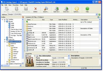 Download CD Catalog Expert