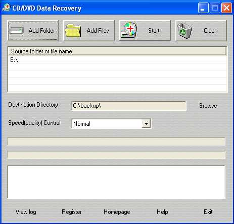 Download CD/DVD Data Recovery