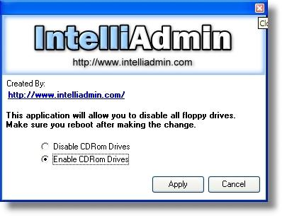 Download CD ROM Drive Disabler