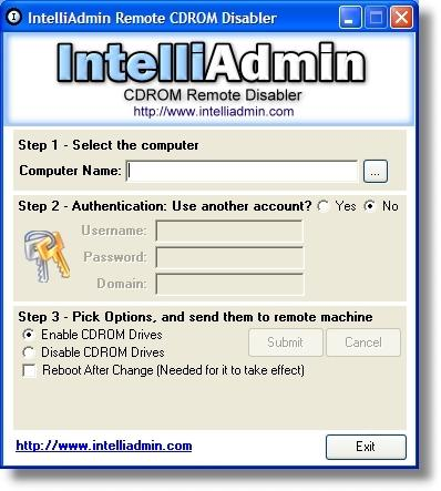 Download CD ROM Drive Remote Disabler