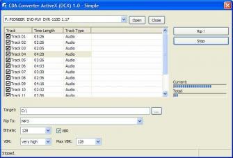 Download CDA Converter Activex (OCX)