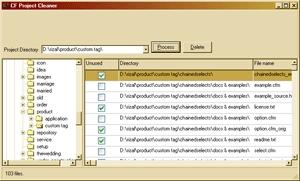Download CF Project Cleaner