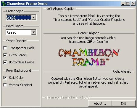 Download Chameleon Frame