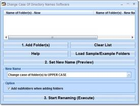Download Change Case Of Directory Names Software
