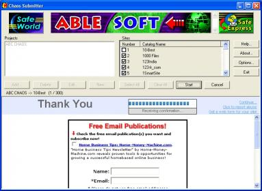 Download CHAOS Submitter