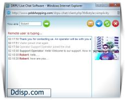 Download Chat Live With Online Customers