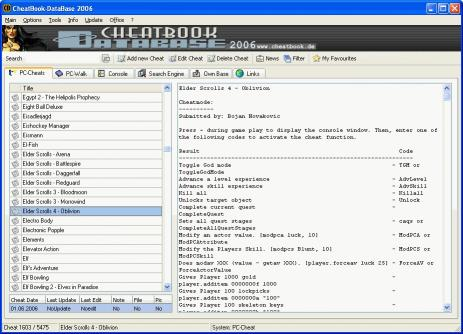Download CheatBook-DataBase 2006