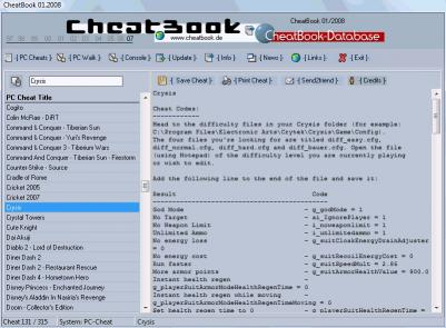 Download CheatBook Issue 01/2008