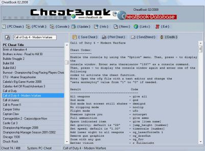 Download CheatBook Issue 02/2008
