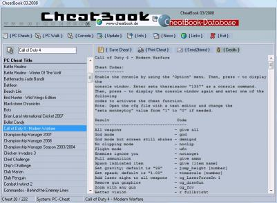 Download CheatBook Issue 03/2008