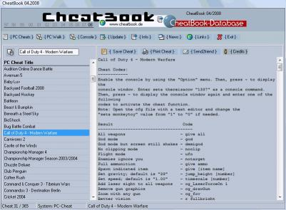 Download CheatBook Issue 04/2008