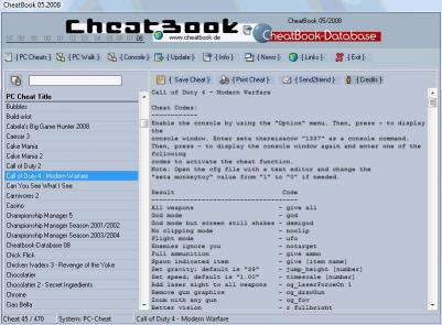 Download CheatBook Issue 05/2008
