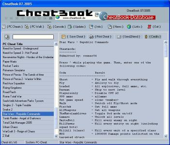 Download CheatBook Issue 07/2005
