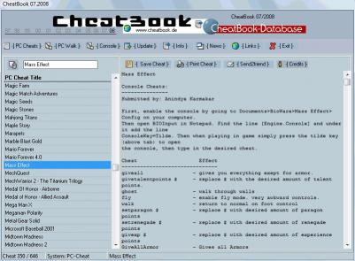 Download CheatBook Issue 07/2008