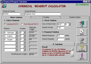 Download Chemical Reagent Calculator