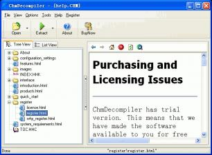 Download ChmDecompiler