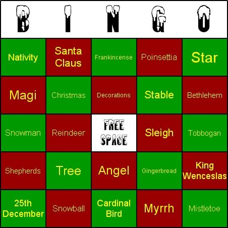 Download Christmas Bingo
