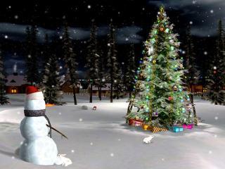 Download Christmas Eve 3D Screensaver