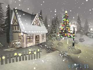 Download Christmas Season 3D Screensaver